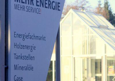 Firmenschild EDi Öhringen