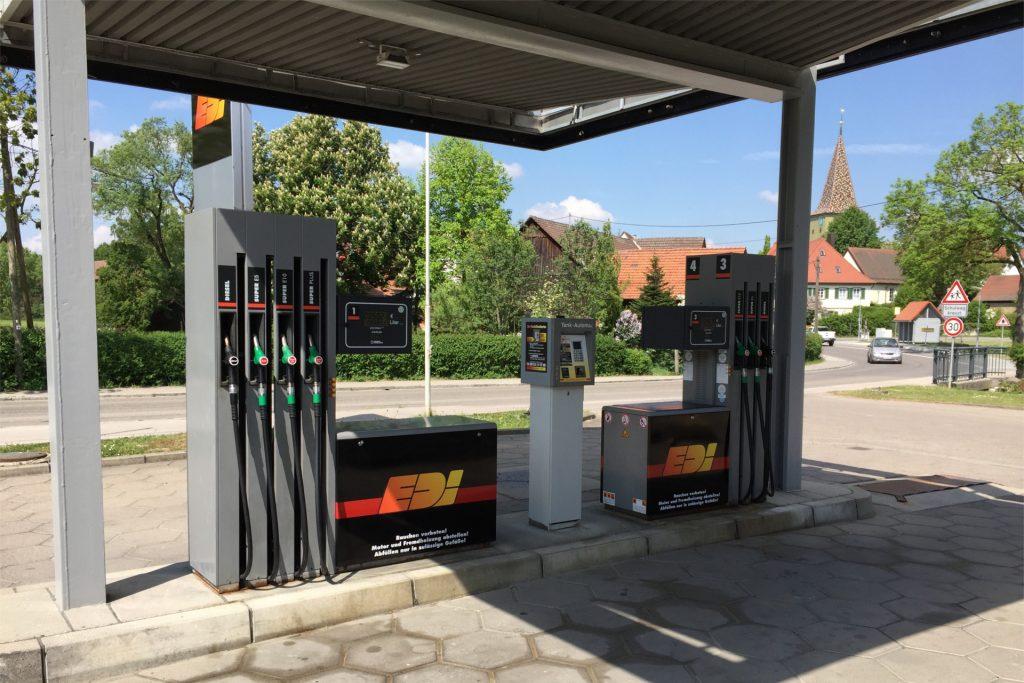 Tankstelle Obersontheim